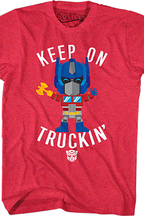 Optimus Prime Keep On Truckin' Transformers T-Shirt
