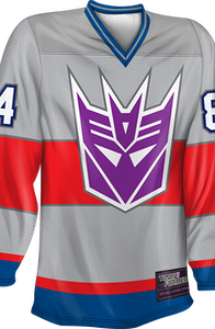 Starscream Decepticons Transformers Hockey Jersey