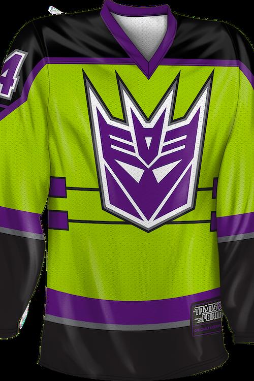 Devastator Decepticons Transformers Hockey Jersey