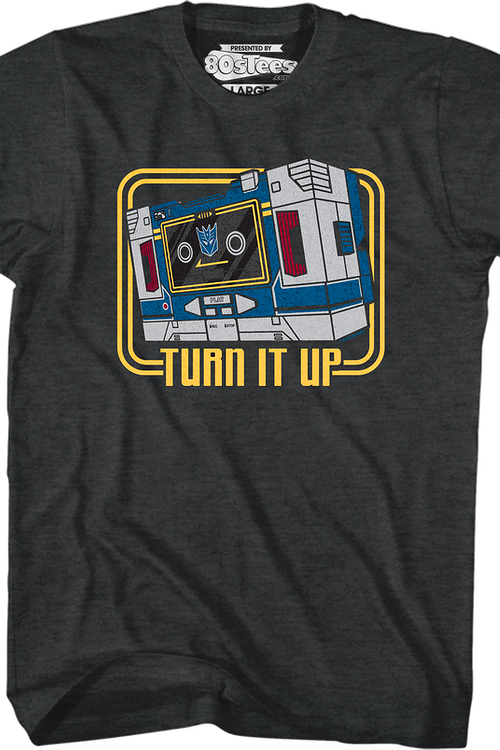 Soundwave Turn It Up Transformers T-Shirt