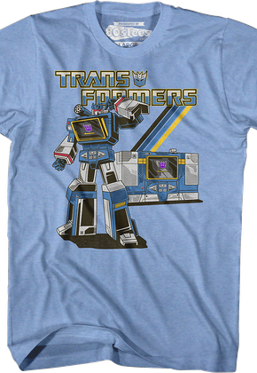 Retro Soundwave Transformers T-Shirt