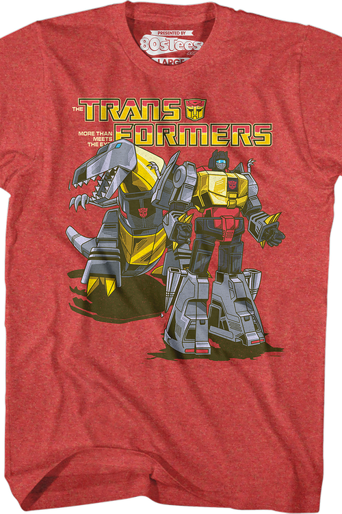 Retro Grimlock Transformers T-Shirt