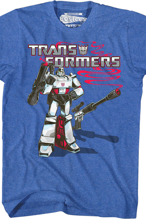 Retro Megatron Transformers T-Shirt