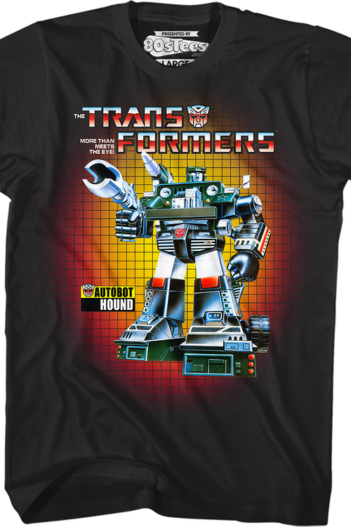Box Art Hound Transformers T-Shirt