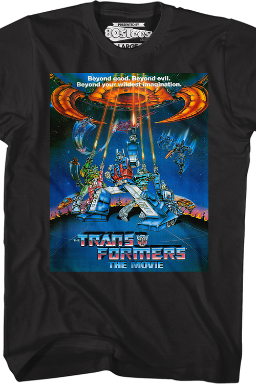Movie Poster Transformers T-Shirt