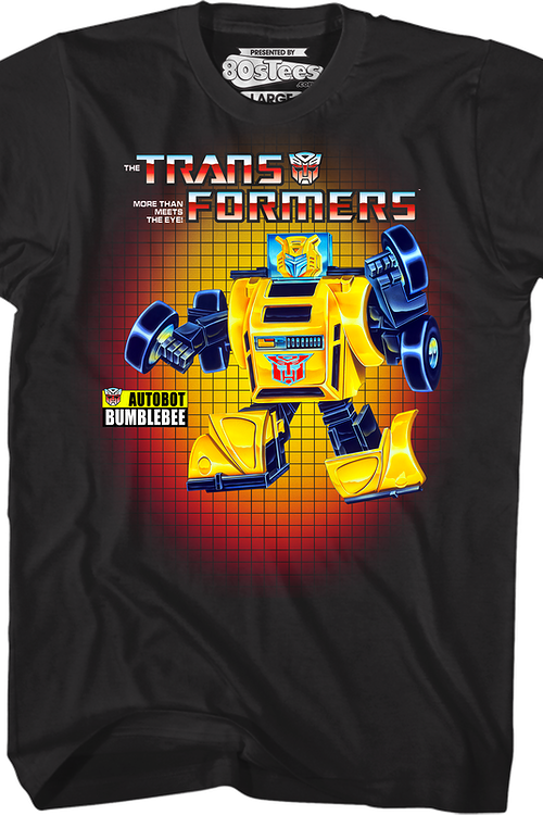Box Art Bumblebee Transformers T-Shirt