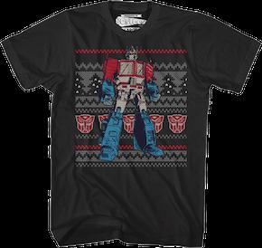 80s Cartoons Christmas Shirts