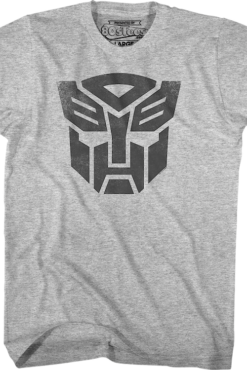 Distressed Autobots Logo Transformers T-Shirt