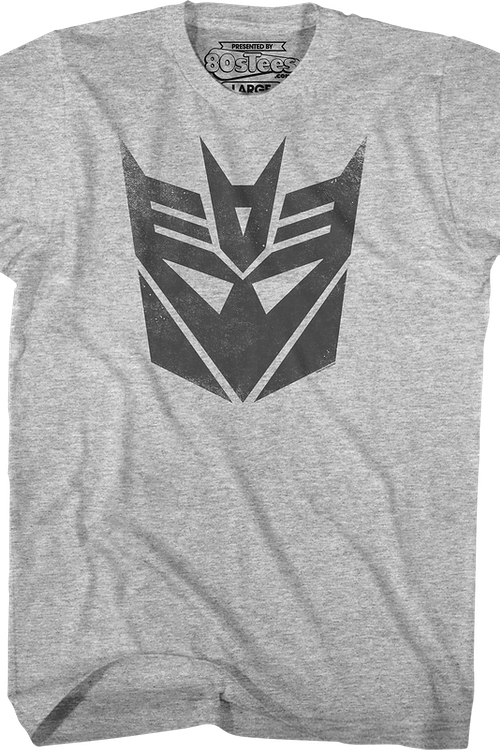 Distressed Decepticons Logo Transformers T-Shirt