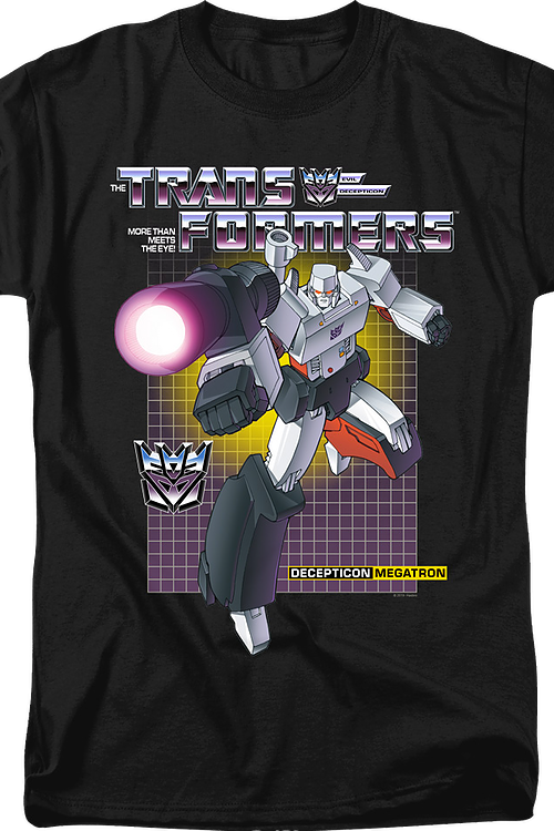 Decepticon Megatron Transformers T-Shirt