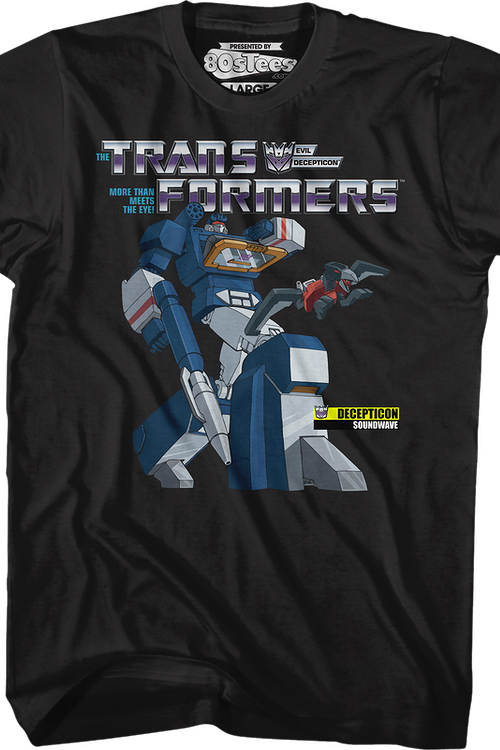 Laserbeak and Soundwave Transformers T-Shirt
