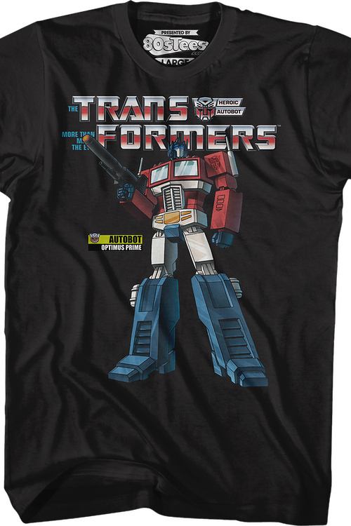 Heroic Autobot Optimus Prime Transformers T-Shirt