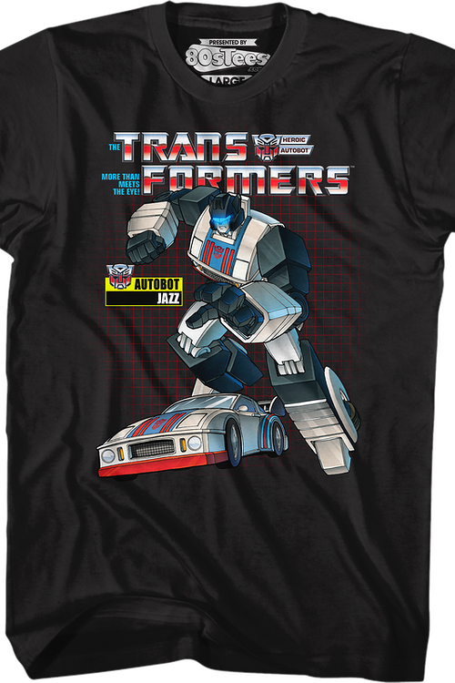 Retro Jazz Transformers T-Shirt