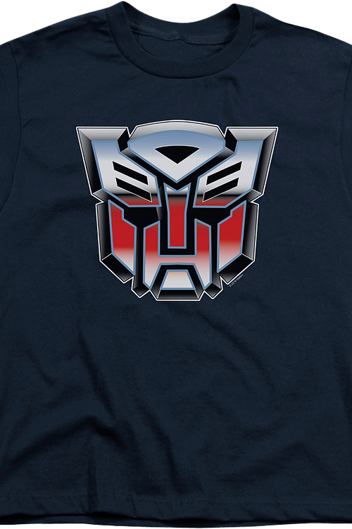 Youth Airbrush Autobot Logo Transformers Shirt