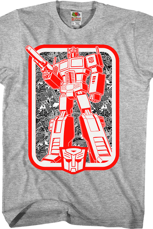 Autobots Leader Optimus Prime Transformers T-Shirt