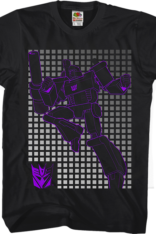 Megatron Grid Transformers T-Shirt