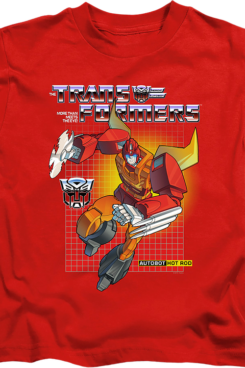 Youth Autobot Hot Rod Transformers Shirt