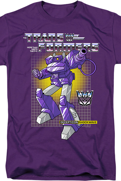 Decepticon Shockwave Transformers T-Shirt