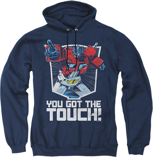 Optimus Prime You Got The Touch Transformers Hoodie
