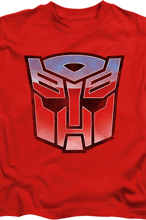Youth Autobot Vintage Logo Transformers Shirt