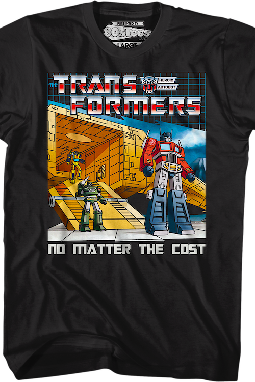 No Matter The Cost Transformers T-Shirt
