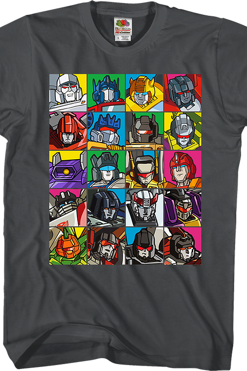 Robot Collage Transformers T-Shirt