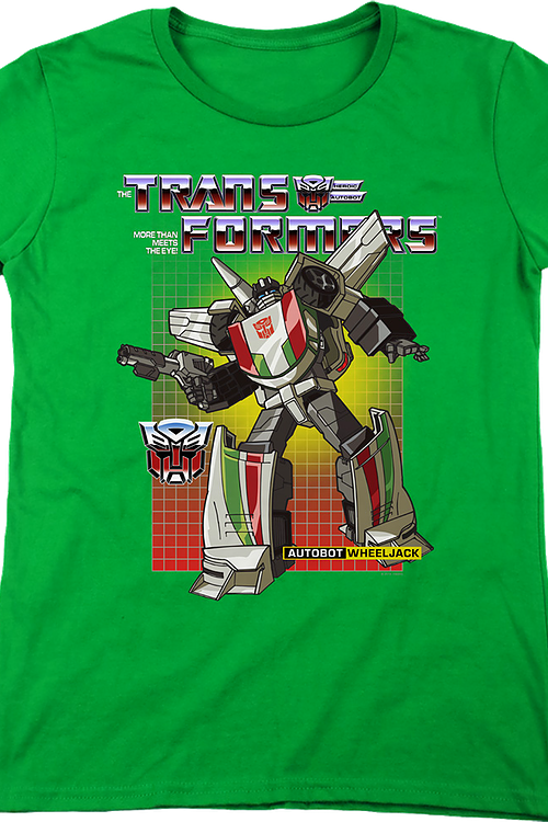 Womens Autobot Wheeljack Transformers Shirt