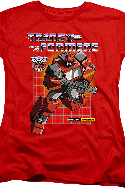 Womens Autobot Ironhide Transformers Shirt
