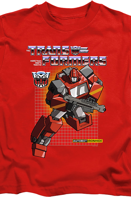 Youth Autobot Ironhide Transformers Shirt