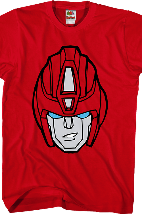Hot Rod Head Shot Transformers T-Shirt