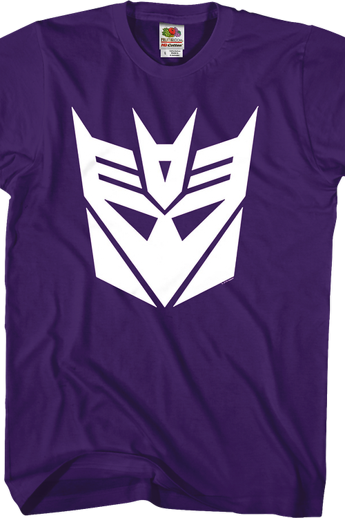 Purple Decepticons Logo Transformers T-Shirt