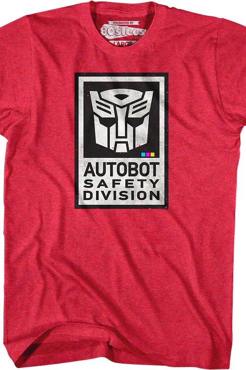 Autobot Safety Division Transformers T-Shirt