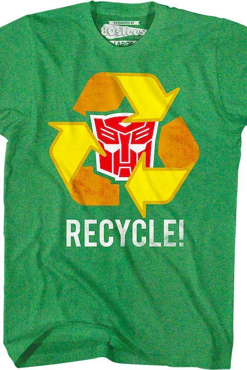 Autobots Recycle Transformers T-Shirt