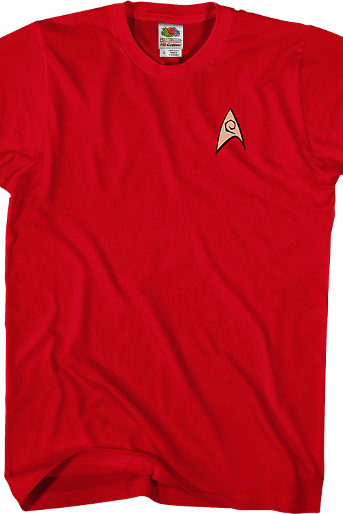 Star Trek Engineering Uniform T-Shirt