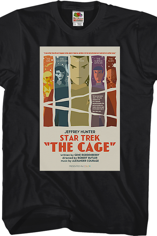 The Cage Star Trek T-Shirt