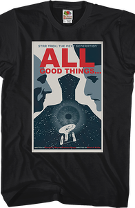 All Good Things Star Trek The Next Generation T-Shirt