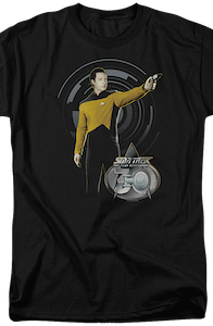 Data 30th Anniversary Star Trek The Next Generation T-Shirt