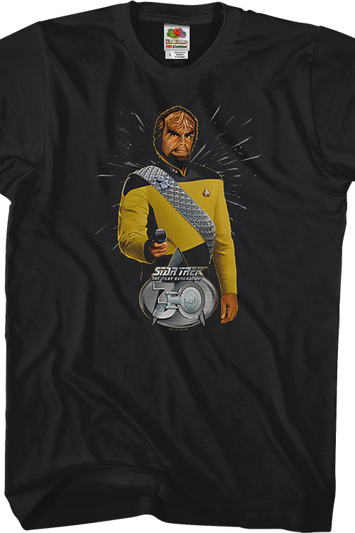 Worf 30th Anniversary Star Trek The Next Generation T-Shirt