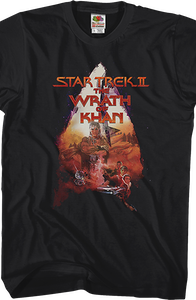 Wrath Of Khan Star Trek T-Shirt
