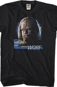 Worf Star Trek The Next Generation T-Shirt