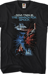 Search For Spock Star Trek T-Shirt