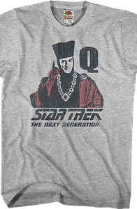 Q Star Trek The Next Generation T-Shirt