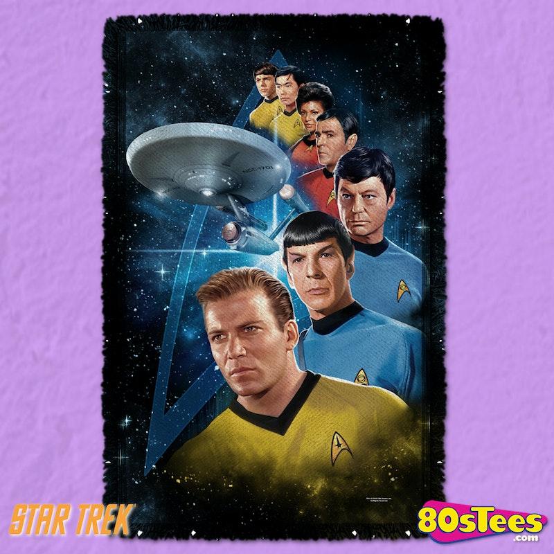 Star Trek Woven Throw Blanket Licensed Custom Metallica Throw Blanket