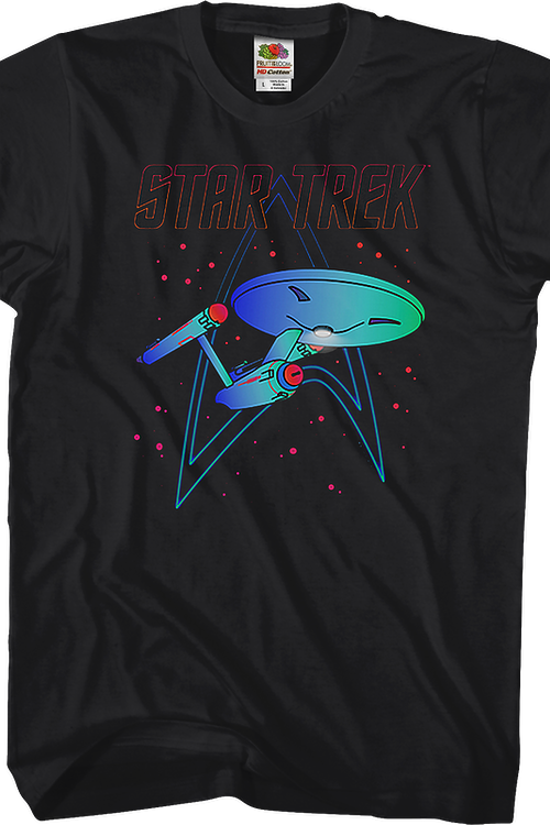 USS Enterprise Star Trek T-Shirt