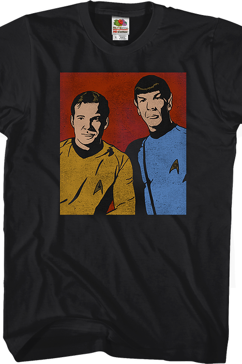 Kirk and Spock Star Trek T-Shirt