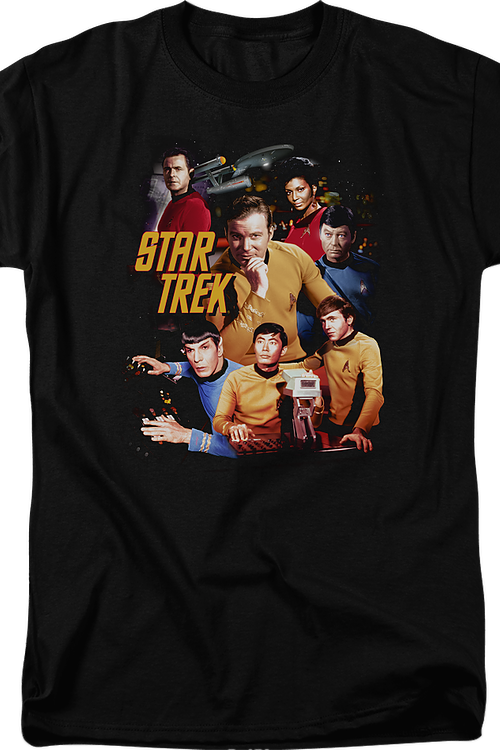 Collage Star Trek T-Shirt