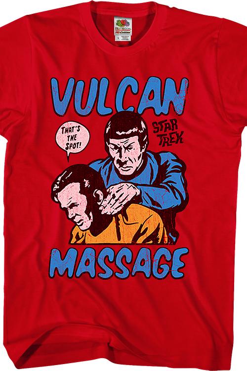 Vulcan Massage Star Trek T-Shirt