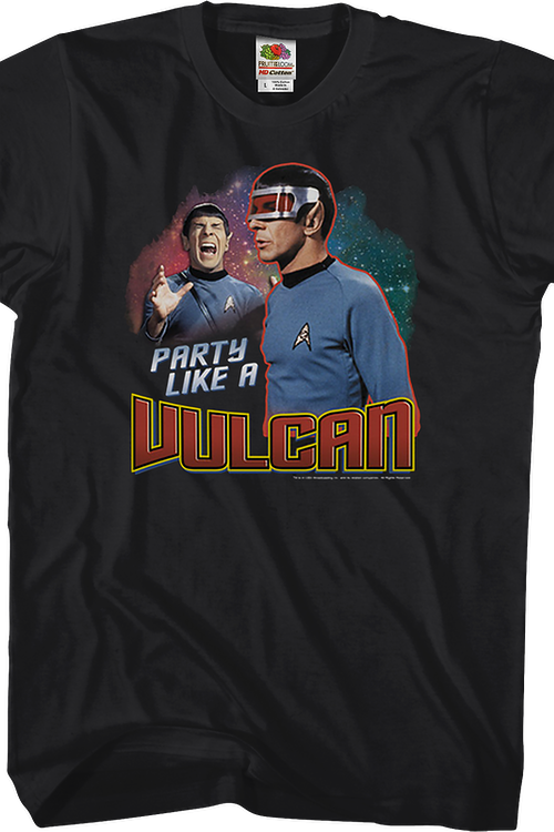 Party Like A Vulcan Star Trek T-Shirt