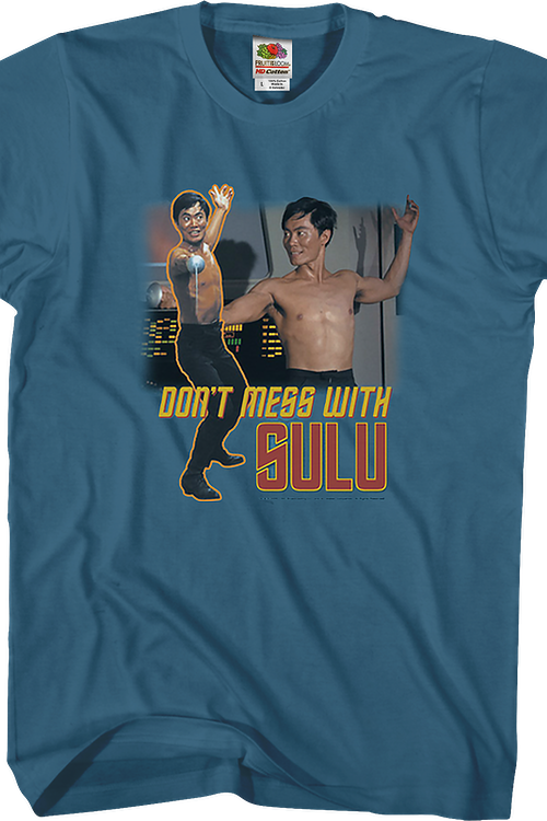 Don't Mess With Sulu Star Trek T-Shirt