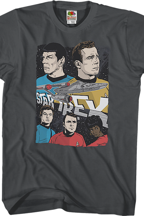 Enterprise Crew Star Trek T-Shirt